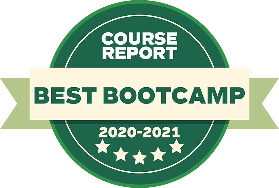 Best bootcamp badge course report green 2020