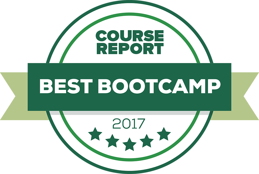 Best bootcamp course report white