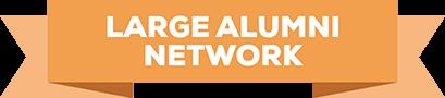 Large alumni network badge